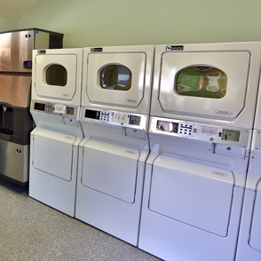 Our on-site guest laundry facility is convenient after outdoor activities in Zion National Park.