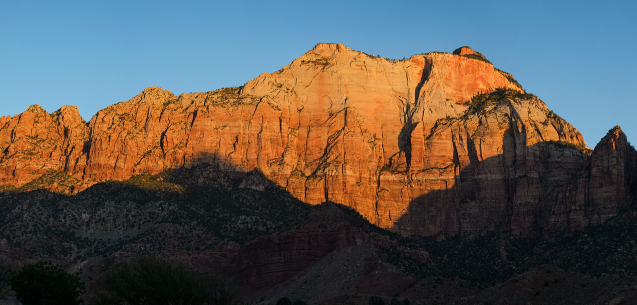 Majestic views at Zion National Park