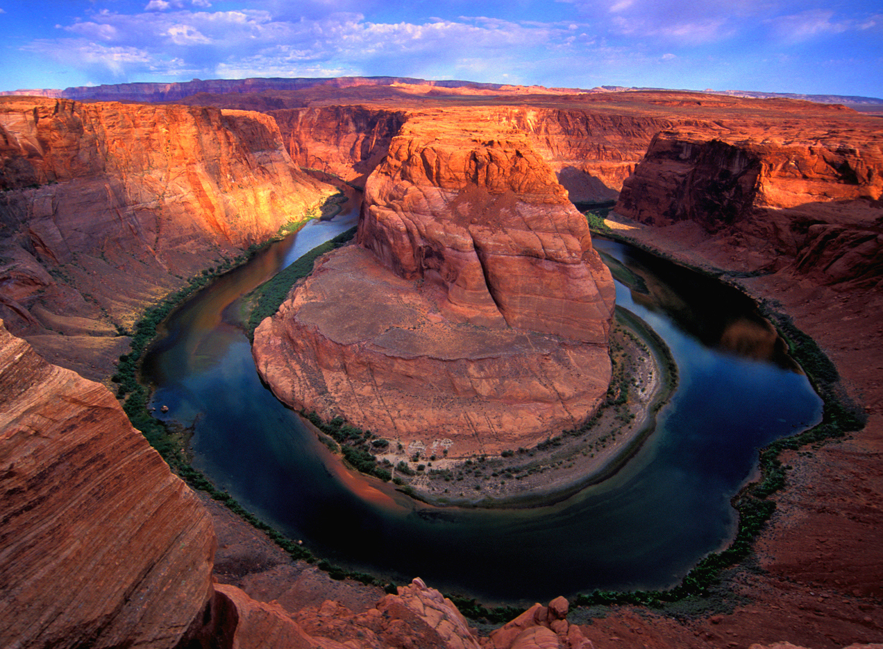 Horseshoe Bend at Lake Powell is on the Grand Circle scenic drive in Southern Utah.